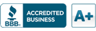 BBB Accredited Business - A Plus Rated